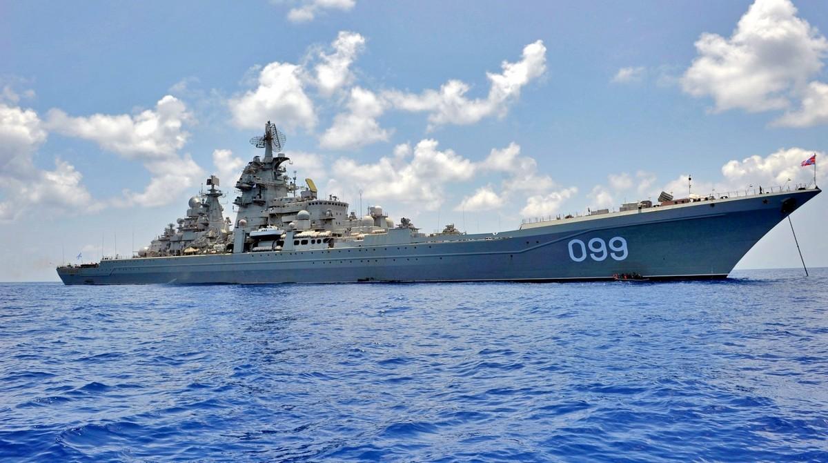 Фото: Крейсер «Киров» http://novostimira.net/
