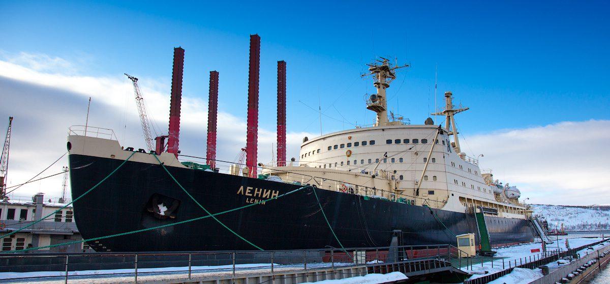Фото: Ледокол «Ленин» http://strana.ru