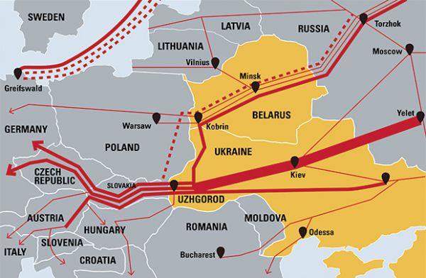 Новак назвал условия поставок газа вЕвропу через Украинское государство — Киеву нужен калькулятор