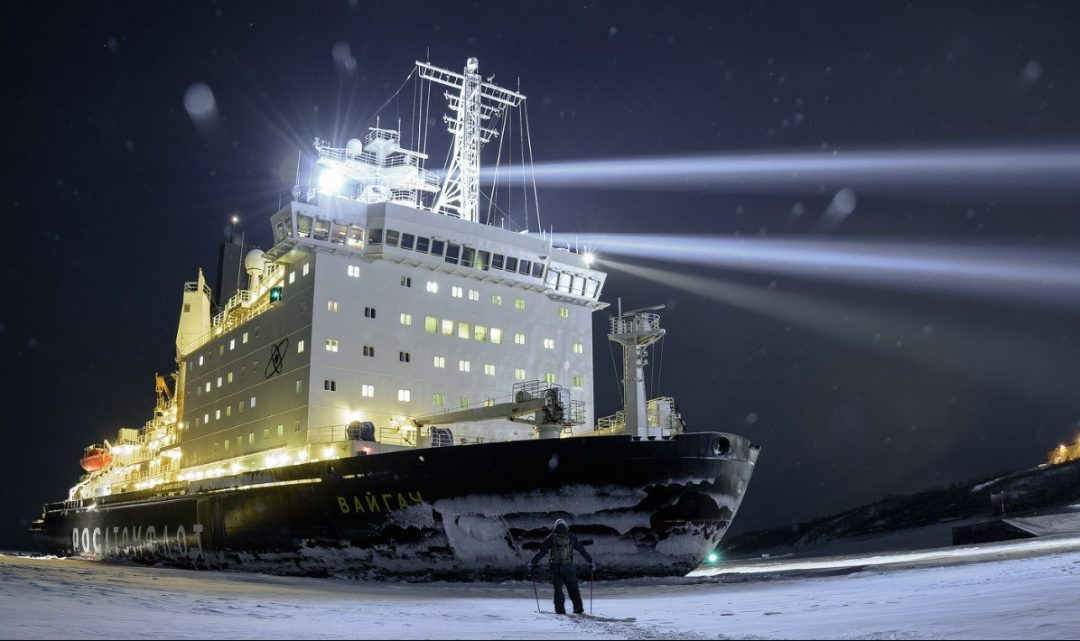 Путешествие по Росатому: атом и лёд