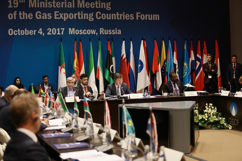 В Москве состоится Министерская встреча  Форума стран – экспортеров газа