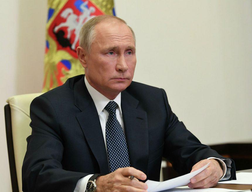 Путин назвал декарбонизацию важнейшим направлением в мире