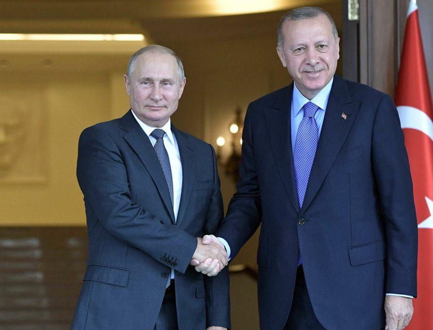 Путин и Эрдоган дали старт началу строительства третьего блока АЭС «Аккую» в Турции