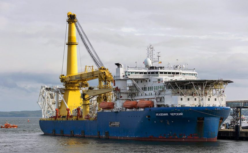 Дырявые санкции США? Фирмы из Европы оборудовали судно «Академик Черский»