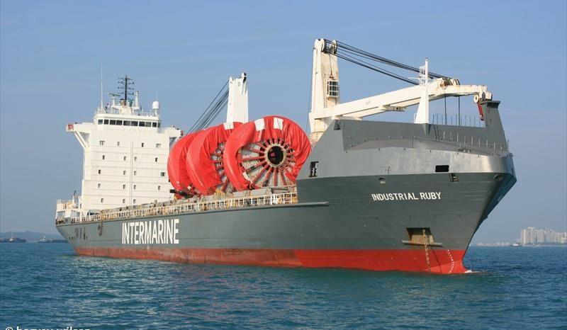 Судно «Industrial Ruby» с партией оборудования для АЭС «Куданкулам» покинуло порт Санкт-Петербурга