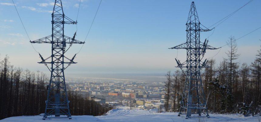 На Сахалине возвели опоры новой ЛЭП, которая обеспечит электричеством 4 северных поселка