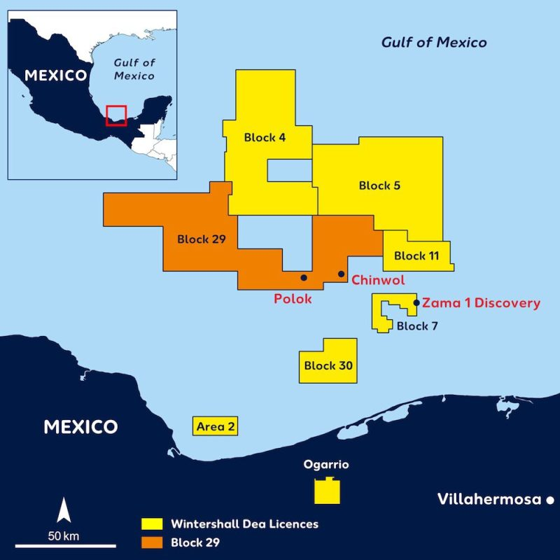 «Лукойл» покупает 50% в проекте «Блок 4» в Мексике за $435 млн