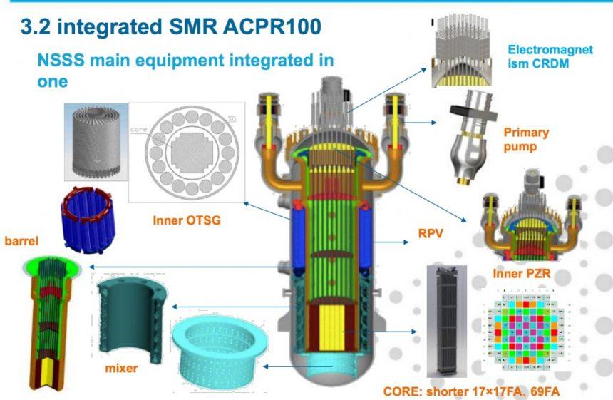 Строительство на Хайнане первого в мире малого модульного реактора завершится в 2026 году