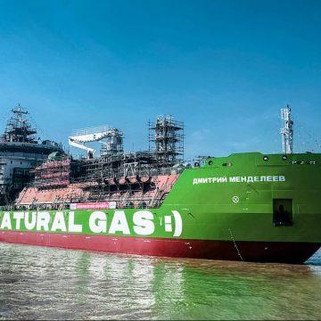 «Газпром нефть» построила первый в России СПГ-бункеровщик