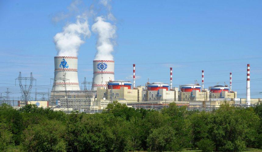 Атомные станции России увеличили за восемь месяцев выработку электроэнергии на 5,3%