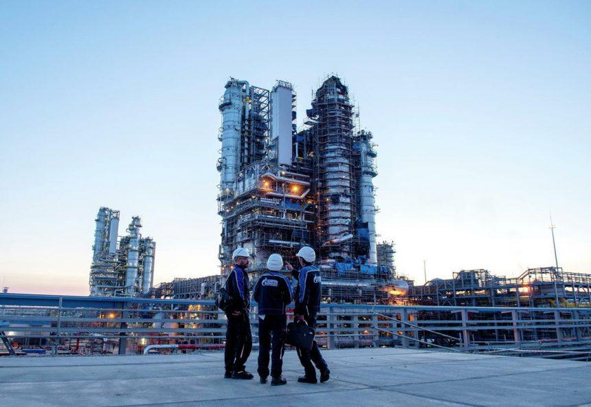 Вторая технологическая линия Амурского ГПЗ «Газпрома» введена в эксплуатацию