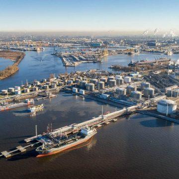 Петербургский нефтяной терминал реконструируют за 4,7 млрд рублей до 2024 года